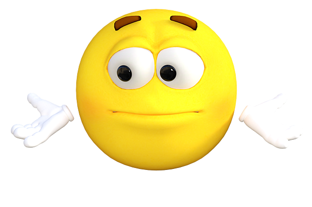 emoticon-I dont know